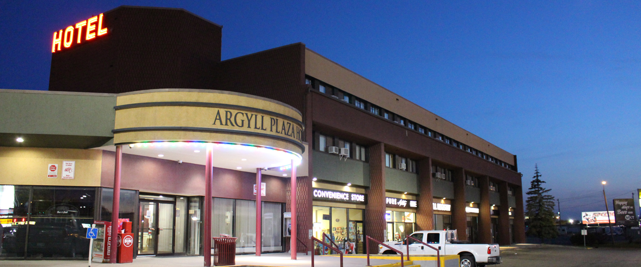 Photo of exterior at Argyll Plaza Hotel